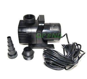 Jebao JGP-30000 Pond Pump 660 Watt Max Flow 7900 GPH 33 feet Power Cord