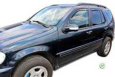 DME23227 Mercedes ML W163 1998-2004 viento desviadores 4pc Heko Teñido