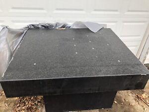 Brown And Sharpe CMM Granite Table