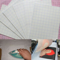 5 Blatt Set T Shirt Transferfolie Inkjet für Stoffe weißesTransferpapier