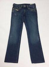 jeans diesel kycut W28 donna 42 slim gamba dritta straight fit usati denim T2152