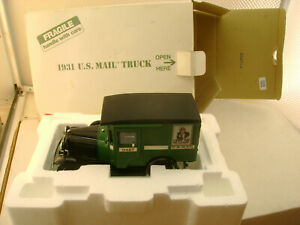 DANBURY MINT 1:24 SCALE 1931 FORD US MAIL TRUCK NEW IN BOX