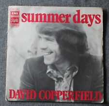 David Copperfield, summer days / me and my leslie, SP - 45 tours