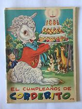 EL CUMPLEANOS DE CORDERITO N°8 LIVRE ENFANT EN ESPAGNOL FHER ILLUSTRE