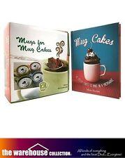 MUGS for MUG CAKES BOOK KIT CUPCAKES COOK BOOK COOKBOOK BAKING RECIPES