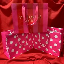 VICTORIA'S  SECRET ... PINK ... Lot  of  3 Gift  Bags