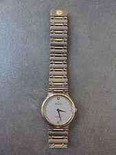 Vintage Ladies Mathew Tissot Gold Tone Watch Quartz MT303-3 1980s JAPAN