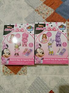 Minnie Mouse And Daisy Duck Mold N Play