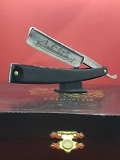 Antique/Vintage 3/4 H. Boker & Co. Etched Face Hollow Ground Straight Razor