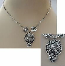 Silver Celtic Wolf Pendant Necklace Jewelry Handmade NEW Adjustable Fashion