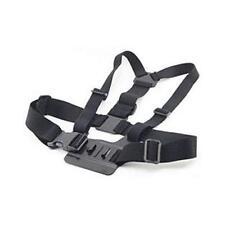 Azione Fotocamera acch1 Elastica Petto Harness Cinghia per un' azione AC53 Fotocamera Nero Nuovo