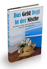 Das Geld liegt in der Nische - online Geld verdienen - diverse Lizenzarten