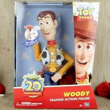 Toy Story 20th Anniversary Disney Pixar Woody Talking Doll Kid Toy Action Figure