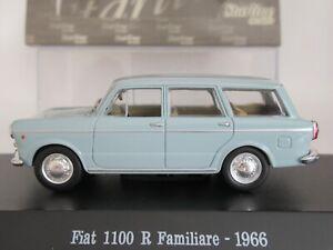 STARLINE, 1:43 scale, FIAT 1100 R FAMILIARE 1966 ESTATE CAR in AZURE SKY BLUE