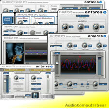 Antares AVOX 4 Vocal Toolkit Plug-in Bundle Audio Software Harmony Effects NEW
