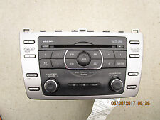 09 - 10 MAZDA6 CD PLAYER 6 DISC CHANGER RADIO AM FM MP3 WMA OEM P/N GS3N669RXD