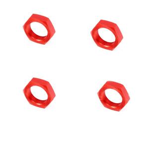 Metall Rad Nuss 4PC für 1/5 HPI ROVAN KM Baja 5B Ss Rc Autoteile