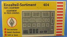 FALLER 404 - Einzelteile-Sortiment - Fenster und Türen - Spur H0 - Eisenbahn 2
