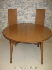 "Tell City Hard Rock Andover Maple 48"" Round Extension Table 8163 Formica Top"