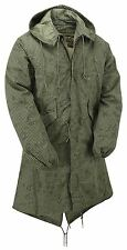 Fishtail Parka Original Army AK915 Military Night Desert Winter Lined Long Coat