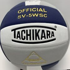 Tachikara Volleyball Indoor Official SV-5WSC Sensi-Tec Cotton/Poly Fiber New