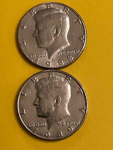 KENNEDY 1988 D 1989 D FREE SHIPPING