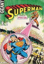 SUPERMAN GEANT NUMERO 7 SAGEDITION 1980