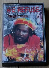 Pablo Moses - We Refuse 1990 Cassette Tape - A VG+ Copy