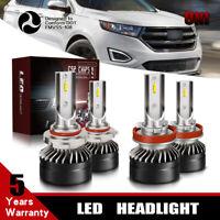 9005+H11 COMBO LED Headlight Bulb 6000K Hi/Lo Beam Kit For 2011-13 Dodge DURANGO