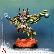 Fantasy knight miniature in 32 mm scale for tabletop and board games Gustav