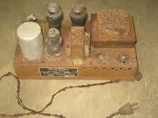 Wurlitzer Jukebox Model 61 Amplifier w/tubes as shown Model 841 RARE!