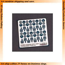 Hobby Design 1/18 Bonnet Pins (A)