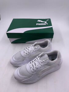 PUMAS RS 9.8 CORE TRAINERS IN WHITE US 10 EUR 43