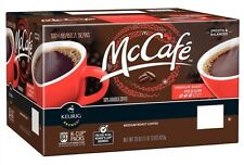 McCafe Premium Roast Coffee, Keurig K-Cups 100 Ct McDonalds Medium Roast Fresh