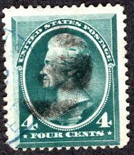 Scott 211, Used 4 Cent, Cat. $27.50, Nice Stamp