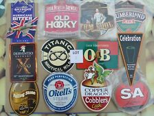 Beer pump clips (breweriana) - set of 12 clips - Lot 3