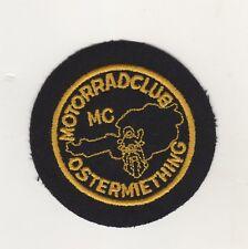 Aufnäher Patches MC Motorrad Club Ostermiething Österreich