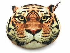 Lagiwa® Porte-monnaie Tête Animal TIGRE tissu avec fermeture éclair + 1 KDO