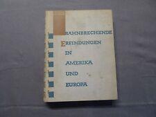 Kaempffert, groundbreaking invention in America and Europe, Mosse EA 1927