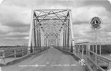 BR62420 puente internacional acuna real photo  mexico