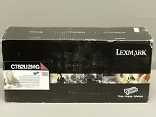 Lexmark C782U2MG Magenta XL Extra High Yield Toner Cartridge C782XL New Seal Box