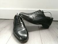 Bally Mens Black Leather Lace Up Formal Oxford Shoes UK 7 - VGC