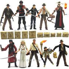 New 10pcs Indiana Jones WILLIE SCOTT TEMPLE GUARD OF DOOM Short Round Figure Toy