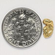 0.4029 Gram Alaska Natural Gold Nugget - (#12397) - FREE SHIPPING