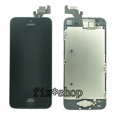 LCD Touch Digitizer Screen For iPhone 5 5G +Home Button+Speaker+Small Camera