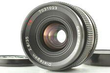 【Top Mint】 Contax Carl Zeiss Distagon T* 35mm f2.8 Manual Focus Lens MMJ JAPAN