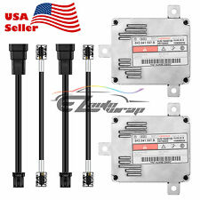 2x D3S D3R D4S D4R HID Ballast OEM Replacement Stock Xenon Light with AMP Cable