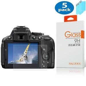 [5x] Nacodex For Nikon D850 HD Tempered Glass Screen Protector