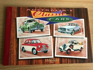 Australian Stamp Booklet Classic Cars incl MUH stamps