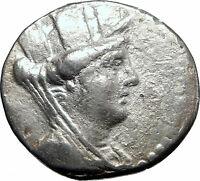 ARADOS PHOENICIA Authentic Ancient 138BC Silver Greek Tetradrachm Coin i80755